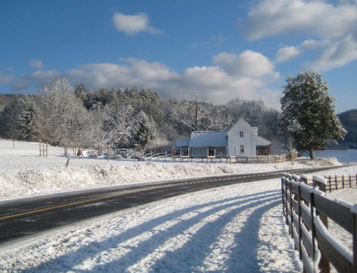 Winter Wonderland at Two Crows